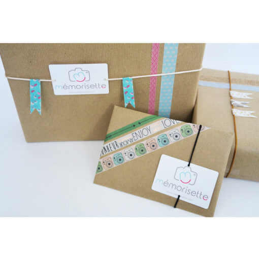 Emballage cadeau Mémorisette